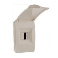 Caixa Protecció 2-4 PIAs. 140x215x100x63mm IP40. Encastar