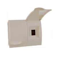 Caixa Protecció ICP+ 2-4 PIAs. 282x215x100x63mm. IP40. Encastar.