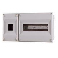 Caja para ICP + 12 PIAs. 360x196x55mm. IP40. Empotrar