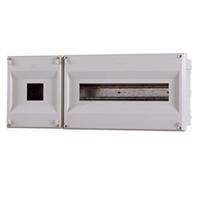 Caja para ICP+19 PIAs. 480x196x55mm. IP40. Empotrar
