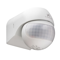 Detector de moviment PIR Sekkyur-Nano Blanc, abast 12m 180º , altura 1,8-2,5m, IP44