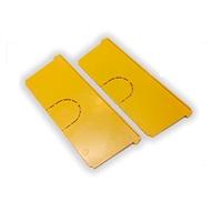 Juego de 2 tabiques separadores para cajas de empalmes