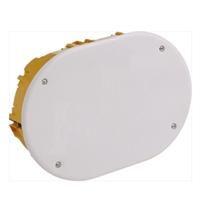 Caja para empalmes con tapa de cierre por tornillos 130x200x46mm IP30