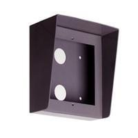 Caixa de superfície d'alumini amb visera Compact S1