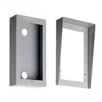 Caja de superficie de aluminio con visera Compact S3