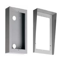 Caja de superficie de aluminio con visera Compact S5