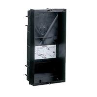 Caja de empotrar placa S1 132x122x60 mm