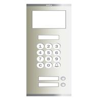 Placa Compact Digital Alfanumèrica T S4 102