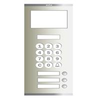Placa Compact Digital Alfanumèrica T S4 103