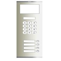Placa Compact Digital Alfanumèrica T S5 104