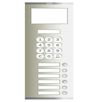 Placa Compact Digital Alfanumèrica T S5 106