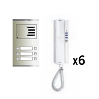 Kit de Porter Compact Digital de 6 línies