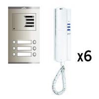 Kit audio analógico Compact S2 6 líneas