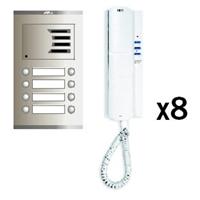 Kit audio analógico Compact S2 8 líneas