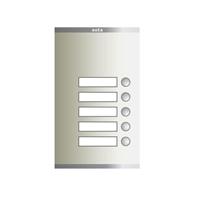 Placa Compact digital polsadors P S2 105