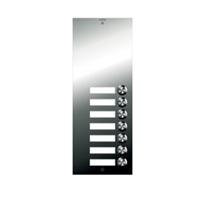 Placa Inox Digital P S4 107 con 7 pulsadores