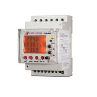 Analizador de redes eléctricas trifásicas para montaje en carril DIN con medida de harmónicos
