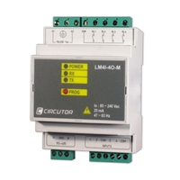 Centralizador de impulsos de 4 entradas y 4 salidas.