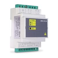Centralizador de impulsos de 4 entradas analógicas, 2 digitales y 2 salidas.