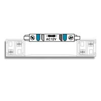 Bloque iluminacion Placa Compact 12Vca