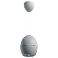 Altavoz de esfera colgante, 10W 99dB ABS blanco