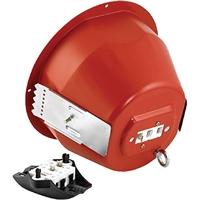 Cúpula ignífuga vermella per altaveus sèrie LC1 EVAC
