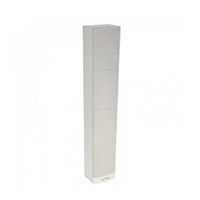 Columna, 24W/110dB blanc/gris amb suport paret giratori.