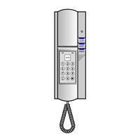 Teléfono intercom interior con teclado