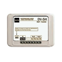 Distribuïdor vídeo DV-5H Sistema No Coaxial 6H / Visualtech 5H