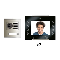 Kit vídeo digital 6H Intercom 2 AVANT No Coaxial Negre S/AP