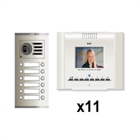 KitvídeodigitalCoaxialColorE-CompactblancS311 línies