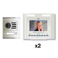 Kit video digital 6H Color E-Compact blanco S1 2 líneas