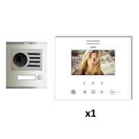 Kit video digital Visualtech 5H color SLIM blanc S1 1 linia