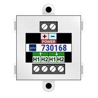 Inyector de alimentación videoportero 2 hilos