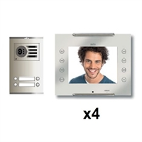Kit KVD-1 Intercom 4 AVANT Coaxial Blanco