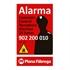 Placa alarma pequeña castellano - Ítem1