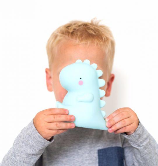 Mini luz T-Rex azul - Ítem1