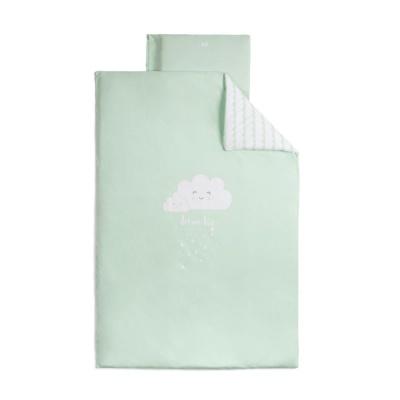 Funda nórdica 110x160 cm + funda de almohada 60x40 Cloud Mint