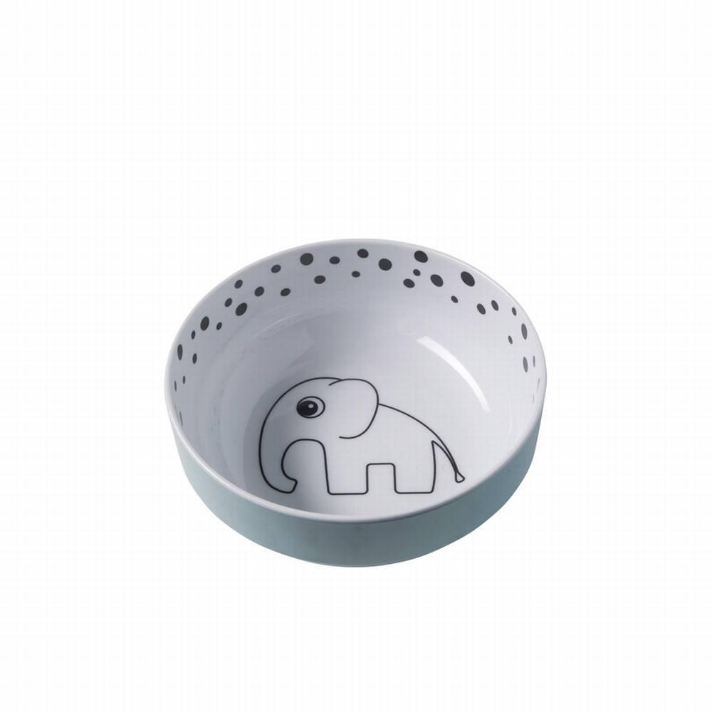 Yummy bowl, Happy dots, blue