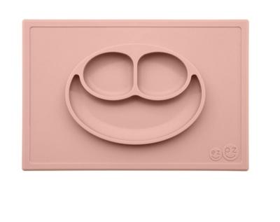Placemat+plate color blush