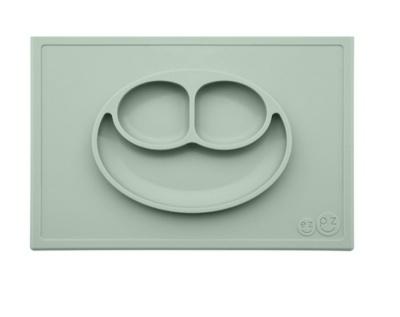 Placemat+plate color sage