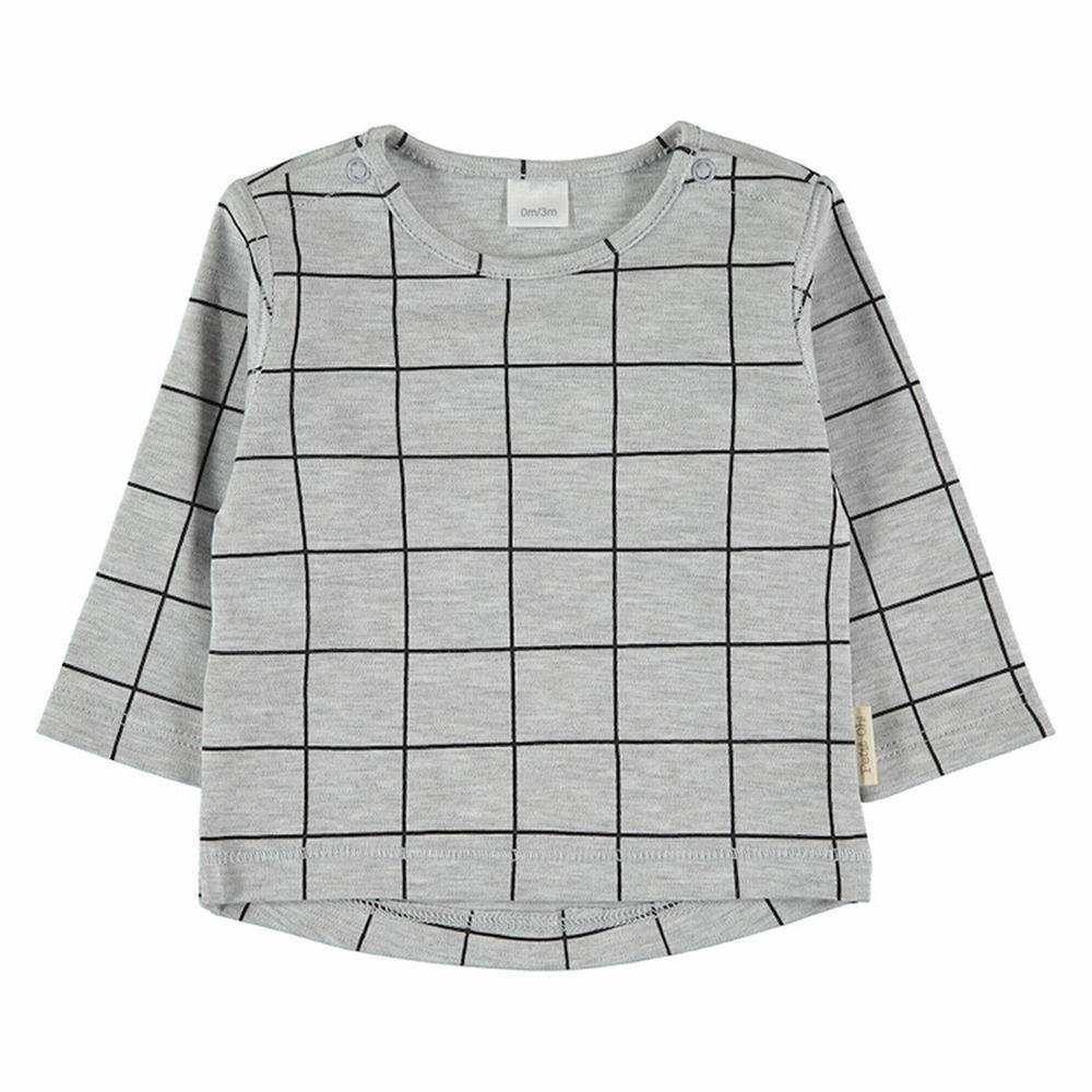 Camiseta grey square