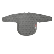 Sleeved bib ballon grey