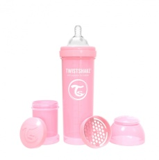 Biberon 330cc Twistshake rosa pastel