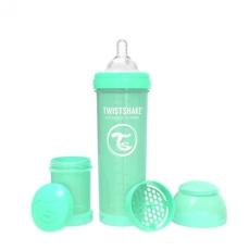 Biberón 330cc Twistshake verde pastel