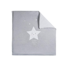 Nórdico de minicuna 50x80 Estrella Gris