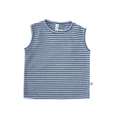 Camiseta sm rayas gris