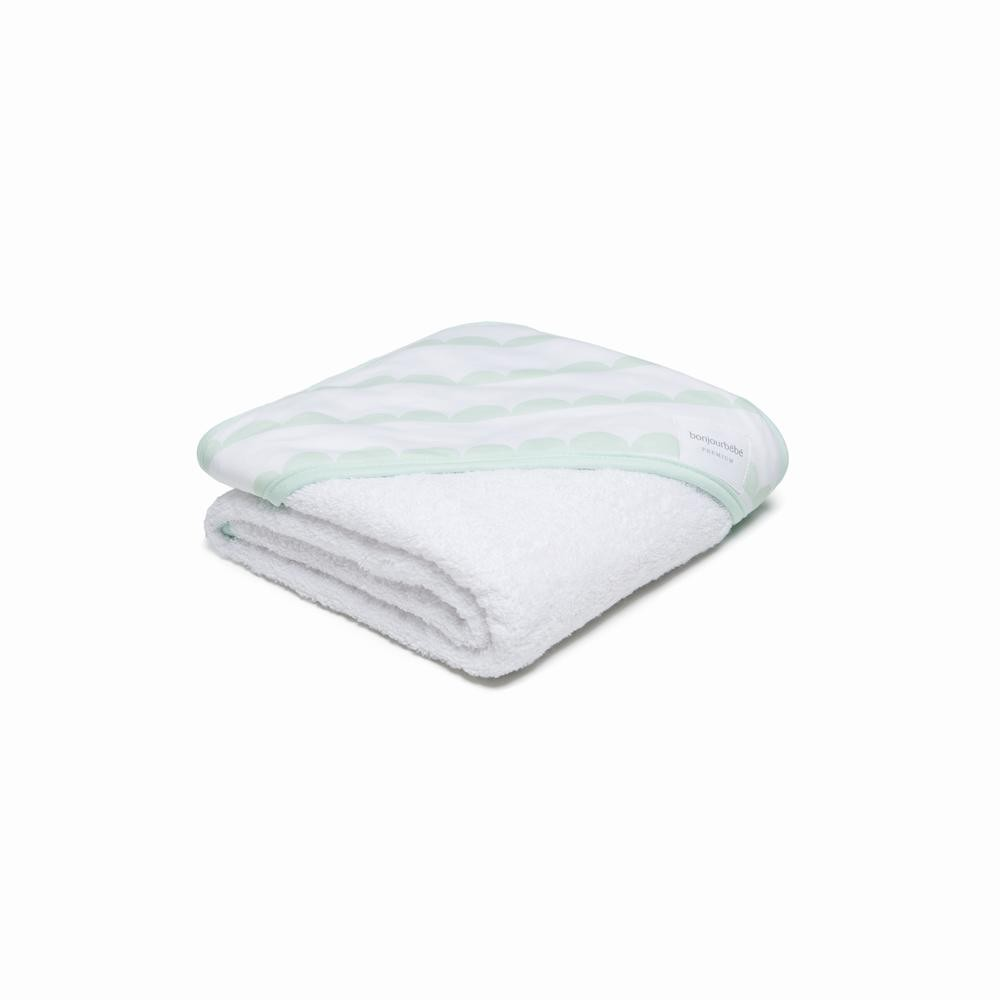 Capa de baño XL 100 Blanca Nube Menta
