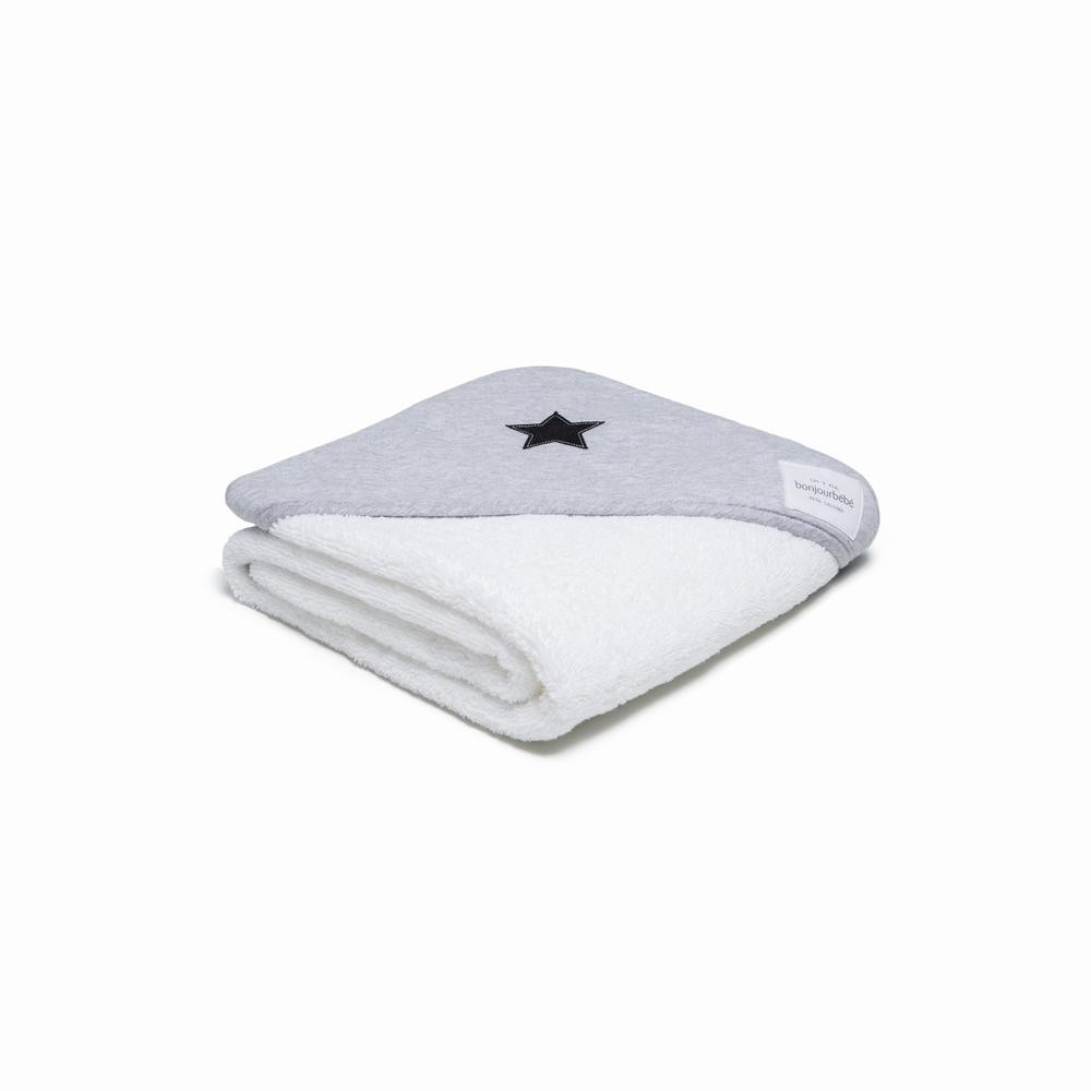 Capa de baño XL 100 Gris Estrellas Negras