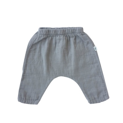 Pantalon largo taupe